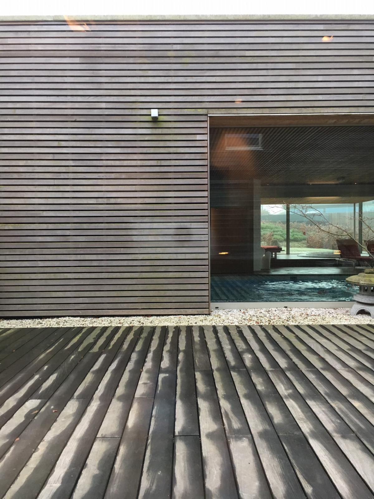 The Nuxe Spa has a Japanese feel