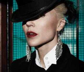 Portrait of Daphne Guinness. Copyright René Habermacher